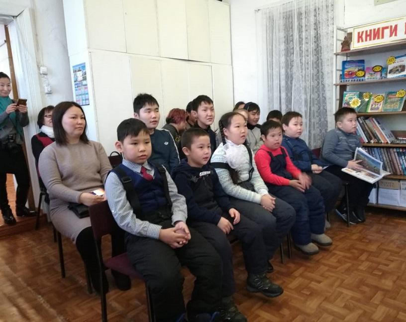 Душевная встреча в районной детской библиотеке
